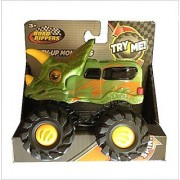 Road Rippers Rev-up Monsters Green Tricera Dino Monster Truck/Van