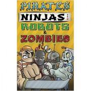 Rather Dashing Games Pirates Ninjas Robots & Zombies Board Game