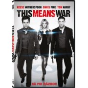 THIS MEANS WARS DVD 2012