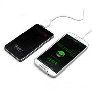 5000mAh външна батерия за iPhone, iPod, Samsung, HTC, LG, Sony - черна