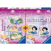 Memory Ravensburger Princesas Disney 15+20+25 + Memory de Disney