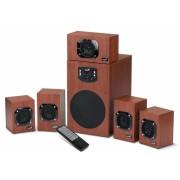 """BOXE 5.1 GENIUS """"SW-HF5.1 4600"""", RMS: 16Wx5 + 45Wx1, wood, telecomanda """"31731028100"""" (include timbru verde 1 leu)"""