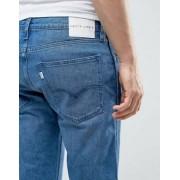 Levis Line 8 Slim Taper Jeans Blue Scrape Wash - Blue