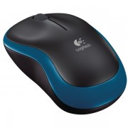 Mouse wireless LOGITECH M185, 1000dpi, albastru