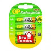 GP Batteries NiMH rechargeable batteries AA Batería/Pila recargable (Níquel metal hidruro, Universal, AA, Multicolor, Ampolla)