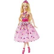 Barbie - Muñeca princesa feliz cumpleaños (Mattel CFF47)