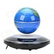 CHEERLINK 106mm UFO Maglev Floating Globe w / anion generador - Azul + Negro (EE.UU. Plug / AC 100 ~ 240V)