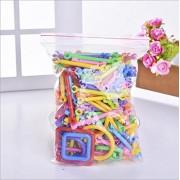 Meijunter Packaged Inserted Plastic Building Blocks Developmental Toys Plástico Bloques Construcción Juguete for Kids Children