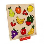 Hape Beleduc E6317 Forme E Frutti Fruit Knob Puzzle