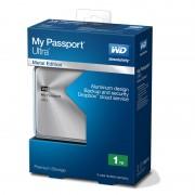 Външен твърд диск Western Digital MyPassport Ultra 1TB USB 3.0 Metal Silver