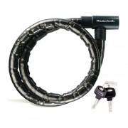 Masterlock 8218 PanzR - Antivol - 22 mm x 2.000 mm noir Câbles antivol