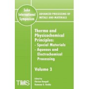 Advanced Processing of Metals and Materials (Sohn International Symposium): Thermo and Physicochemical Principles: Special Materials - Aqueous and Electrochemical Processing Volume 3 by Florian Kongoli