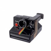 Polaroid SX-70 Rainbow Stripe Presto Black RS125031487