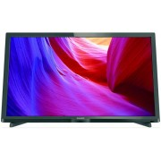 Televizor LED Philips 24PHH4000, HD Ready, 100 Hz, USB, HDMI, 24 inch, DVB-T/C, negru