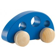 Hape - Van Mini - Solid Maple in Blue