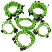 Kit cabluri modulare Super Flower Pro Green