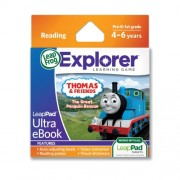 LeapFrog LeapPad Ultra eBook Adventure Builder Thomas and Friends The Great Penguin Rescue