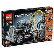 LEGO Technic Set #9397 Logging Truck