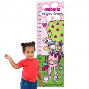 Personalised Height Chart - Bang on The Door Pony Girl