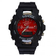 CREATOR WR 20Bar Shock Resist Ana log Digital Watch For Men And Women,