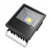 G21 LED reflektor Bridgelux, LED Meanwell tápegység, 70W természetes fehér - fekete