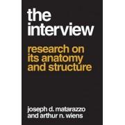 The Interview by Joseph D. Matarazzo