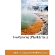 Five Centuries of English Verse by Oxford University Press