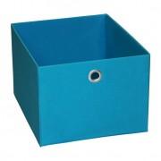 Caixa Organizadora Retangular Média Azul 20X27X32 Cm Acasa Móveis
