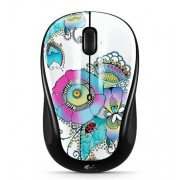 M317 Lady On The Lily Wireless Mouse - Multicolor (910-003702)- Logitech