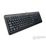 Tastatură Trust eLight LED, negru (cu iluminare spate) HUN