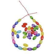Saamarth Impex Multicolor Crafts Beads Jewelry Making Art And Craft Beads SI-4660
