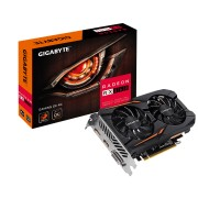 Gigabyte Radeon RX 560 Gaming OC 4096MB GDDR5 PCI-Express Graphics Card GV-RX560GAMING OC-4GD Boost Clock: 1300MHz Memory: 4096MB 7000MHz GDDR5
