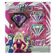 Barbie - Spy Squad Secret Diamond, compacto de maquillaje (Markwins 9602410)