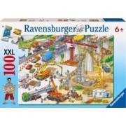PUZZLE TEREN DE CONSTRUCTII 100 PIESE Ravensburger