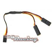JR/Graupner Servo Y-Kabel for strong Servos - for the EXTRA Power Supply FM4®