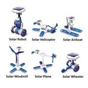 POWERPLAY 6 - In - 1 Educational Diy Solar Powered Kit - Science Education Toys For Kids Children
