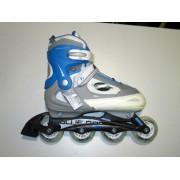 Roleri Vibes Blue Racer plavi veličina 38-41