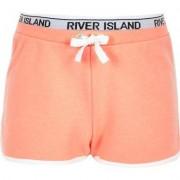 River Island Girls RI Active Orange runner shorts