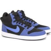 Nike COURT BOROUGH MID Sneakers(Black)