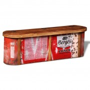 Reclaimed Solid Wood Sideboard Storage Bench