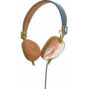 Casti Skullcandy Knockout Teal Coral Gold Mic