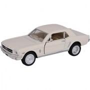 Baby Steps Kinsmart Die-Cast Metal 1964 1/2 Ford Mustang (White)