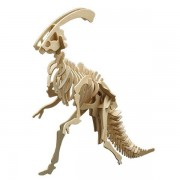 Puzzle eco 3D din lemn Parasaurolophus Pebaro