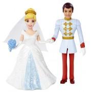 Mattel BDJ69 Disney Princess Little Kingdom Magiclip Cinderella Fairytale Wedding Dolls by Mattel