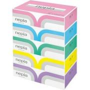 "NEPIA ""Premium Soft"" Салфетки бумажные, 5 пачек по 180 шт."