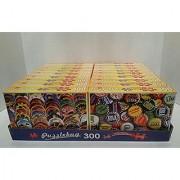 JIGSAW PUZZLE BUNDLE OF 18-BOXES PUZZLEBUG 300 300 PIECES PER BOX