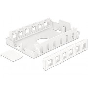 DeLOCK 86172 caja de conexión eléctrica - Cuadro eléctrico (Color blanco)