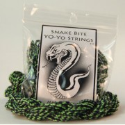 100 Pack Snake Bite String 100% Polyester Yo Yo Strings In Snake Skin Diamond Back
