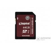 Card memorie Kingston SDXC 64GB UHS-I Class 3