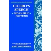 Cicero: Pro Rabirio Postumo by Marcus Tullius Cicero